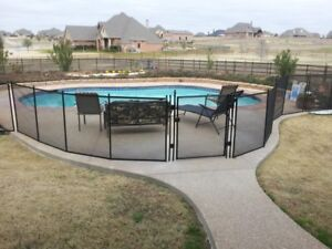 Protectachild Pool Fence - Mesh removable safety fence