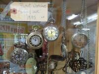 Antique Look Pocket Watches - BlUE JAR Antique Mall