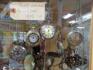 Antique Look Pocket Watches - BLUE JAR Antique Mall