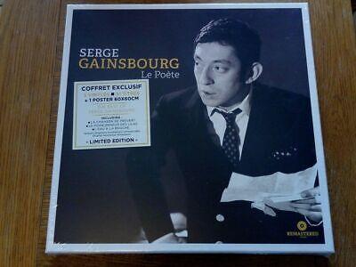Serge Gainsbourg Le Poète LIMITED EDITION BOXSET 3xLP Plus Poster VINYL