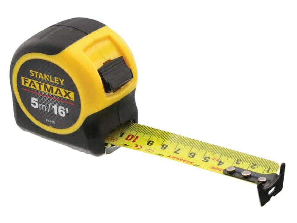 Stanley 033719 Fatmax BladeArmor Pocket Tape Measure 5m / 16ft (Width 32mm)