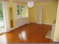 Spacious 2 bedroom ground floor flat to rent unfurnished with garden and garage available 17.03.17