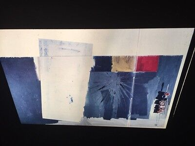 "Jasper Johns ""Studio"" 35mm Color Slide. Pop Art Neo-dadaist"
