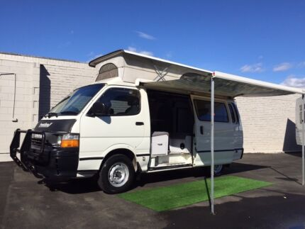 Toyota Hiace Frontline Pop Top Campervan AUTOMATIC Brookvale Manly Area Preview
