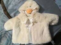 6-9 months adorable soft duck Jacket.