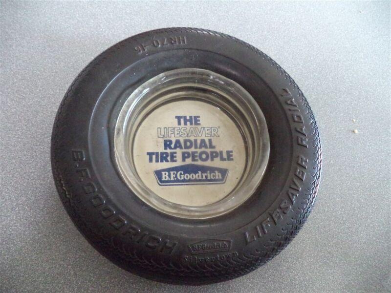 BF Goodrich Silvertown LifeSaver Radial Tire Ashtray HR70-15