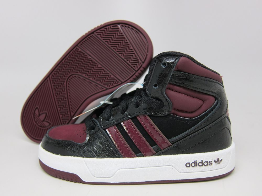 NEW ADIDAS BABY COURT ATTITUDE TD SHOES [Q33000]  TODDLER US 5 / EUR 20