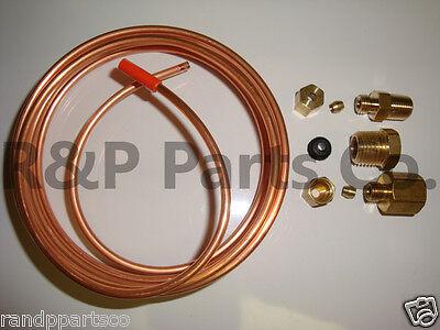 Oil Pressure Gauge Tubing Line Kit 18 X 72 Dia Copper For Case Tractor Abc523