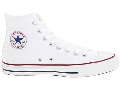 CONVERSE Unisex Chuck Taylor ALL STAR High Top White Athletic Shoes M7650 DEFECT Chuck Taylor White Top