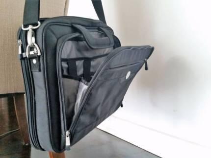DELL black laptop shoulder carry bag - never used!