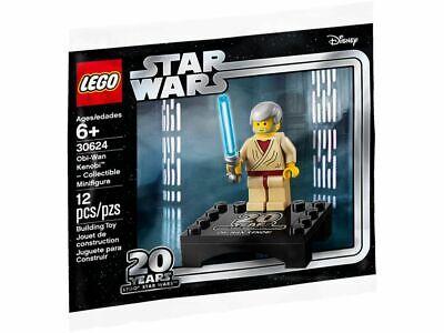 LEGO STAR WARS 20th Anniversary Obi Wan Kenobi MINIFIG new from Lego set #30624