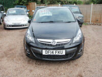 VAUXHALL CORSA LIMITED EDITION (black) 2014