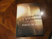 Portia De Rossi Book about Anorexia Bulemia Eating Disorders New