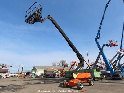 2013 Jlg E600jp 60 Electric Articulating Boom Lift Man Aerial Platform Bidadoo