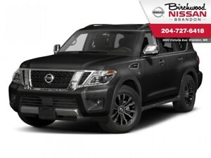 2017 Nissan Armada Platinum Edition DVD/AWD/Third Row/360 cam/LC