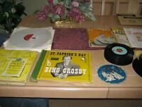 Collectors' rare vinly records price reduced