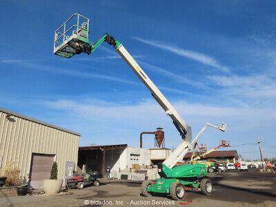 2012 Jlg M600jp 60 Electric Articulating Boom Lift Man Aerial Platform Bidadoo