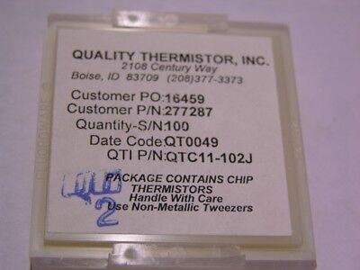 5 Quality Thermistor Qtc11-102j Ptc 1k 5 Thermistors
