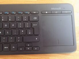 BOXED/NEVER USED: Microsoft All-In-One Keyboard & Mousepad (purchased new for £45)