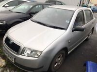 Skoda Fabia 1.4 Petrol 68k Done Great Example