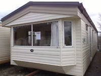 Static caravan 35 x 12 ft 2 bedrooms + electric heating, good condition, ABI Brisbane