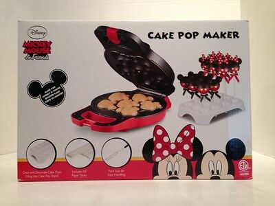 Rare Disney Mickey Mouse & Friends Cake Pop Maker