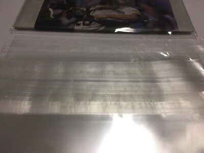 10 Collectible thick Newspaper Clear Protective Bag 11x14 (Resealable Covers)