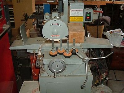 Central Machinery Surface Grinder Wstand One Shot Lube System New.
