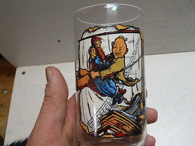 Vintage 1985 Goonies Glass Collector Series Sloth Comes to the Rescue