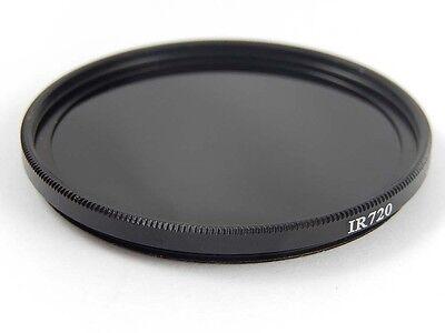 1x Camera filtro infrarosso nero 720nm 46mm Ø IR720 -vhbw-