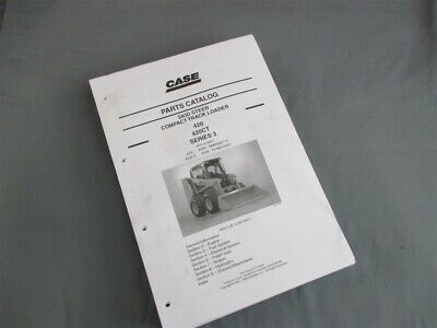 Case 420 420ct Series 3 Skid Steer Compact Track Loader Parts January 2008
