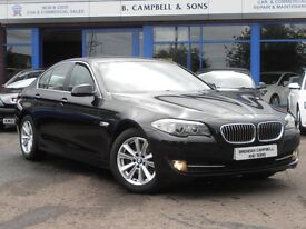2011 BMW 520d SE 181BHP 4 Door Saloon 5 Series In Black