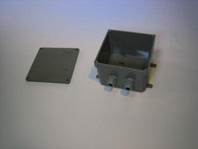 Carlon E987r 6x6x4 Pvc Electrical Junction Box -- Used