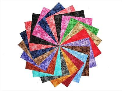 85 4 Inch DaydreamTonal Quilting Fabric Charm Pack Squares