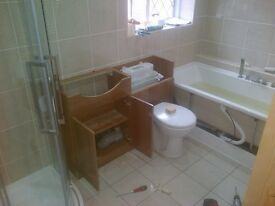 COMPLETE BATHROOM FITTING SERVICE/TILING AND ALL PLUMBING 0739 121 7172