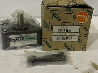 Oriental Motor Gear Head 5gn18ka  New
