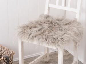 IB-Laursen-Tibetano-Asiento-piel-gris-claro-Piel-de-cordero-Cojin-de-silla-Gris