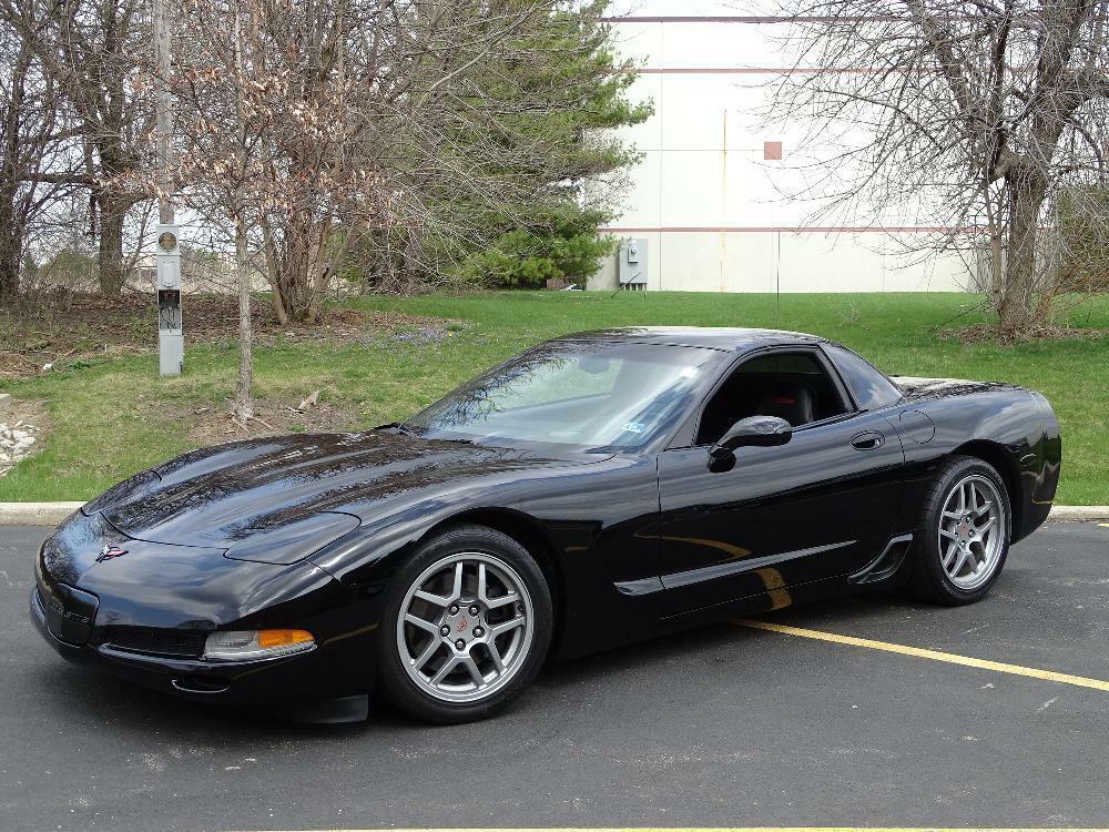 2002 Black Chevrolet Corvette Z06  | C5 Corvette Photo 3