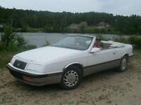 1989 Chrysler Lebaron convertible Cabriolet