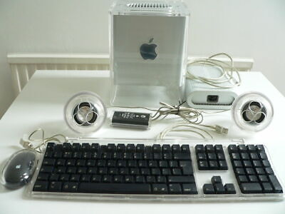 Apple PowerPC Mac G4 Cube, Studio Display, Complete, Boxed with Accessories