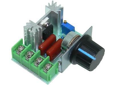 Ac Dimmer Or Speed Control 2k Watts 220vac 32350 Mi