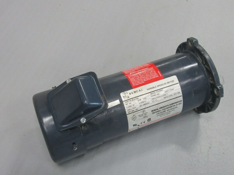 Remcal M-4619B Variable Speed DC Motor 22236900