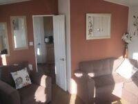 For sale used static caravan holiday home sited Devon beach surfing family park - Free brochure!