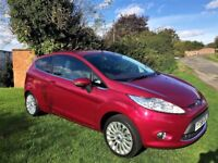 FORD FIESTA 1.4 TDCi Titanium, 1 Owner, Full Service History, Stunning all round (red) 2008