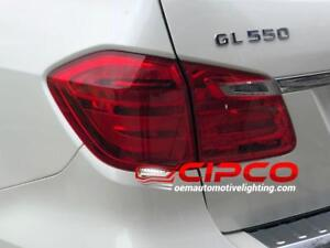 2013 Mercedes Benz GL350 Tail Light, Tail Lamp Left = Driver Side Outer / Used | Clean & Undamaged