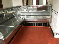 Serve Over Counter - Refrigerated Stainless Steel Display Counter