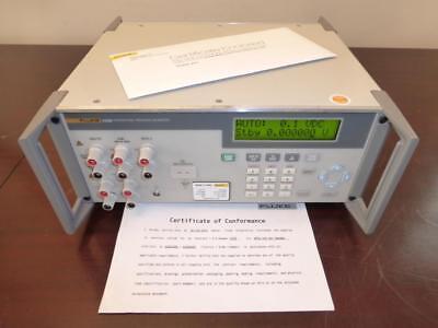 Fluke 525b 120v Temperature Pressure Calibrator With Fresh Mfg Calibration