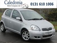 TOYOTA YARIS 1.3 COLOUR COLLECTION VVT-I 5DR (silver) 2005