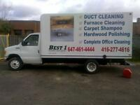 Air Duct And Carpet Cleaning  Special Offer. [ 416-277-4616 ]