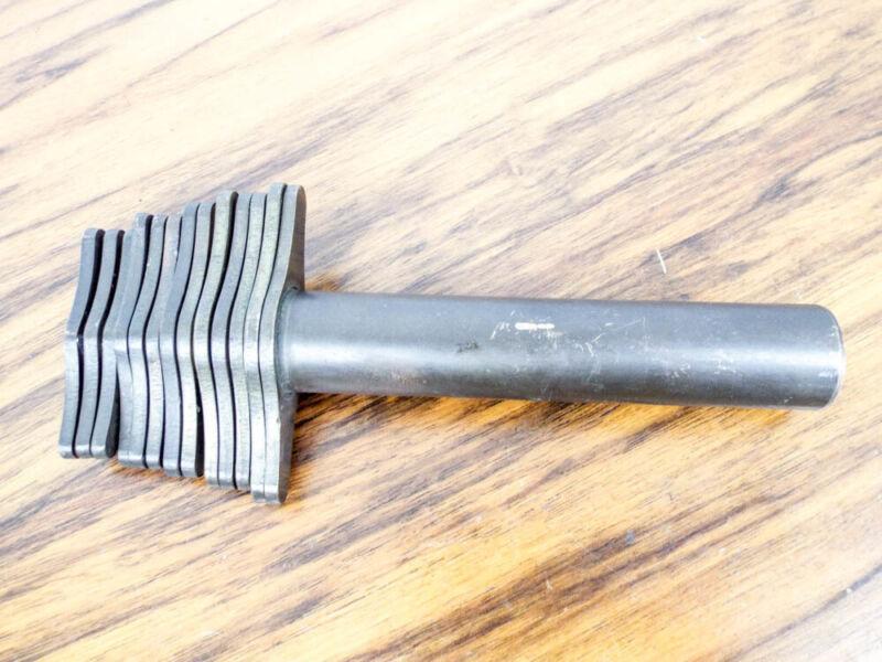 Antique Apothecary Brass Cork Cutter 13 Piece Nesting Borer Set Vintage Punches